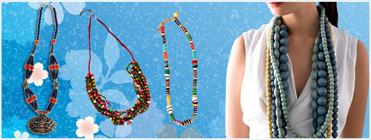 Fashion Jewellery Necklace Manufacturer Exporter In India Glass Beads Manufacturers Bead Craft